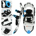 Aluminum All Terrain Snowshoes with Adjustable Ratchet Bindings