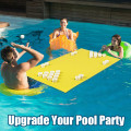 """5.5' x 23.5"""" 3-Layer Multi-Purpose Floating Beer Pong Table"""