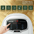 Portable All-In-One Heated Foot Spa Bath Motorized Massager
