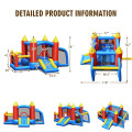 Kid Inflatable Slide Jumping Castle Bounce House with 740w Blower