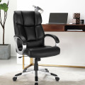 Big and Tall Adjustable High Back Leather Executive Computer Desk Chair