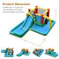 Slide Water Park Climbing Bouncer Pendulum Chunnel Game without Air-blower