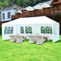 10 x 20 ft Outdoor Party Wedding Canopy Tent with Removable Walls and Carry Bag