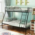 Twin over Full Bunk Sturdy Metal Bed