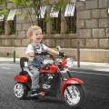 6V 3 Wheel Kids Motorcycle-Red