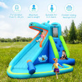 Hippo Inflatable Water Slide Bounce House with Air Blower
