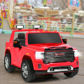 12V 2-Seater Licensed GMC Kids Ride On Truck RC Electric Car with Storage Box