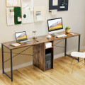"""79"""" Multifunctional Office Desk for 2 Person with Storage"""