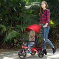 4-in-1 Kids Tricycle with Adjustable Push Handle