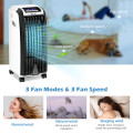 Evaporative Portable Air Cooler with 3 Wind Modes and Timer for Home Office