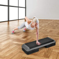 """43"""" Height Adjustable Fitness Aerobic Step with Risers"""