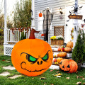 4 Feet Halloween Inflatable Pumpkin with Build-in LED Light