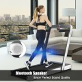 4.75HP 2 In 1 Folding Treadmill with Remote APP Control
