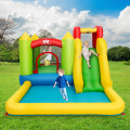 Inflatable Bounce House Water Slide Jump Bouncer Without Blower