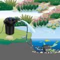 4000 Gallons Pond Pressure Bio Filter with 13W UV Light