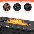 "42"" 60,000 Btu Rectangular Propane Gas Fire Pit Table"