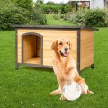 Wood Extreme Weather Resistant Pet Log Cabin
