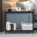 2-Tier Console X-Design Sofa Side Accent Table