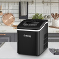 26lbs/24h Portable Countertop Ice Maker Machine with Scoop