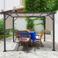 16' x 8' 2Pcs Universal Replacement Canopy for Pergola Structure Sun Awning