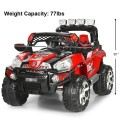 12 V Kids Ride On SUV Car with Remote Control LED Lights