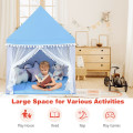 Large Playhouse Children Play Castle Fairy Tent Gift with Mat