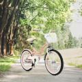 18 Inch Kids Adjustable Bike with Training Wheels