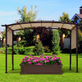 Outdoor Canopy Shade Cover with Copper Grommets & 4 Straps