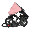 7-In-1 Baby Folding Tricycle Stroller with Rotatable Seat