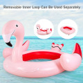 6 People Inflatable Flamingo Floating Island for Pool, Lake and River