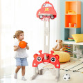 3-in-1 Basketball Hoop for Kids Adjustable Height Playset with Balls