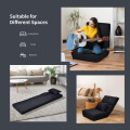 Fold Down Flip Convertible Sleeper Couch with Pillow