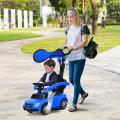 3-in-1 Mercedes Benz Ride-on Toddler Sliding Car
