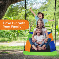 """60"""" Platform Tree Swing Outdoor with  2 Hanging Straps"""
