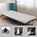 "75"" x 31"" Folding Guest Bed with Foam Mattress"