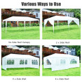10' x 20' 6 Sidewalls Canopy Tent with Carry Bag
