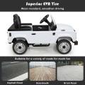Landrover Defender Licensed Pedal Powered Car with Brake
