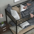 Metal Bunk Bed Twin Over Classic Bunk Bed Frame