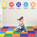 58'' Toddler Foam Play Mat Baby Folding Activity Floor Mat for Home and Daycare School