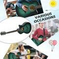 "40"" Full Size Cutaway Acoustic Guitar Starter Guitarra Bundle Kit"