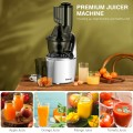 """Juicer Machines Slow Masticating Juicer Cold Press Extractor with 3"""" Chute"""