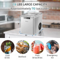 26Lbs/24H Portable Ice Maker Machine with Scoop and Basket