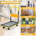 330 lbs Folding Platform Cart Dolly Hand Truck