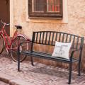 50 Inch Patio Garden Bench Loveseats for Outdoor
