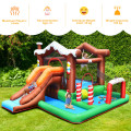 Kids Inflatable Bounce House Jumping Castle Slide Climber Bouncer Without Blower