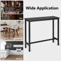 """47"""" Pub Dining Bar Bistro Table with Marble Top"""