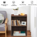 2-Layer Multifunctional Furniture Display Cabinet with Large Capacity Storage Space