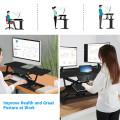 Electric Height Adjustable Standing Desk Coverter