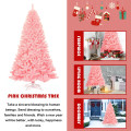 7.5Ft Hinged Artificial Christmas Tree Full Fir Tree