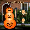 6 Feet Halloween Inflatable Stacked Pumpkins